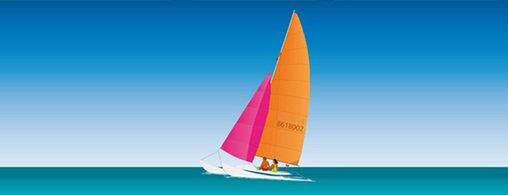 Catamaran Sailing Clipart Picture Free Download.