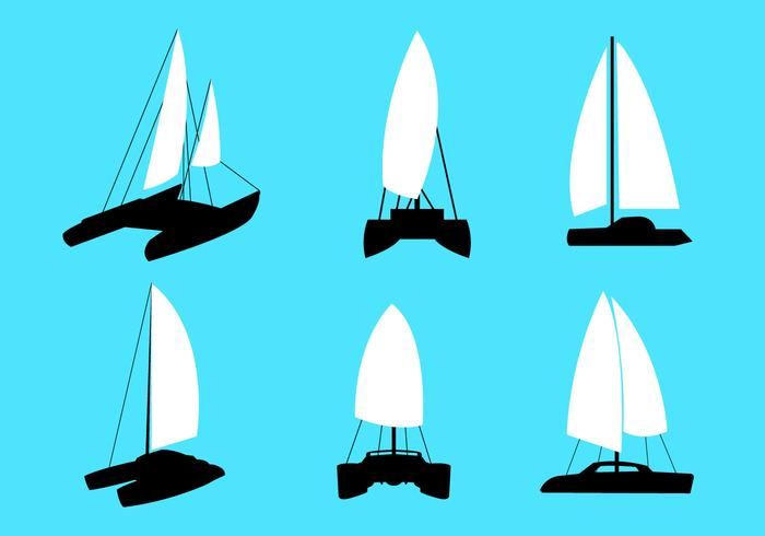 Catamaran Vectors.
