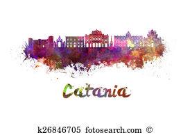 Catania Clip Art and Stock Illustrations. 21 catania EPS.