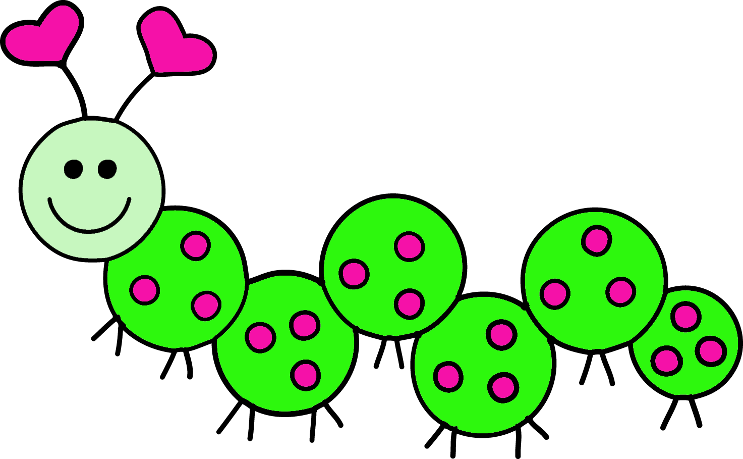 Caterpillar Clipart.