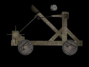 Catapult Clipart.