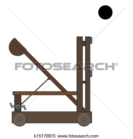 Catapult Clip Art Vector Graphics. 346 catapult EPS clipart vector.