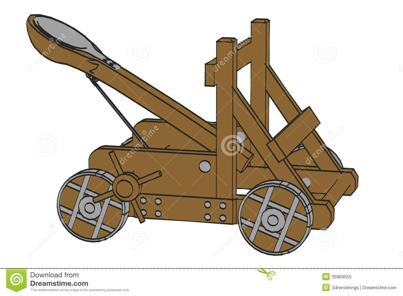 Catapult Stock Illustrations.