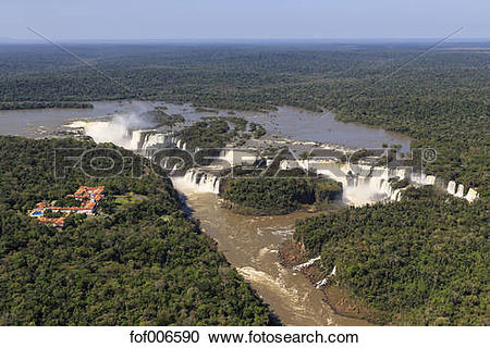 Stock Photography of South America, Brasilia, Parana, Iguazu.