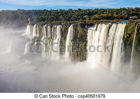 Imágenes de Iguazu, bajas, (Cataratas, del, Iguazu), ser, cascadas.