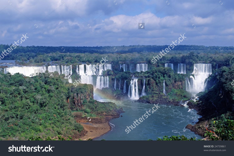 Iguacu Falls National Park, Cataratas Del Iguazu, Subtropical.