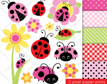 Lady bug clipart.