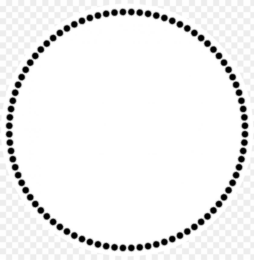 circle border clip art.