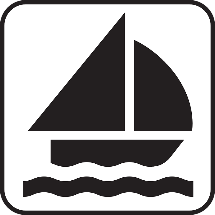 Free vector graphic: Sailing, Sailing Boat, Catboat.
