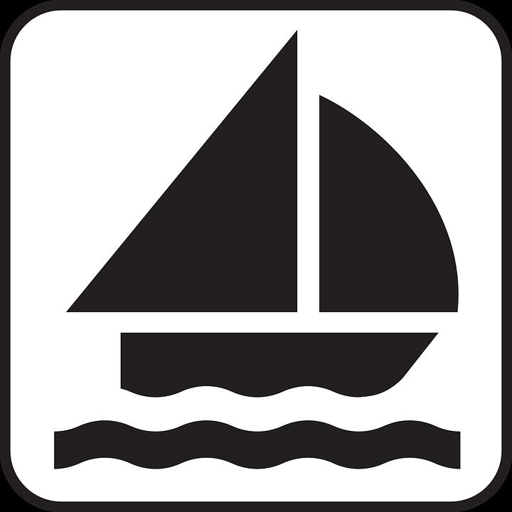 Free vector graphic: Sailing, Sailing Boat, Catboat.