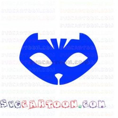 pj masks Catboy Blue PJ Masks svg dxf eps pdf png.