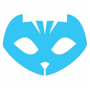 pj masks catboy logo svg.