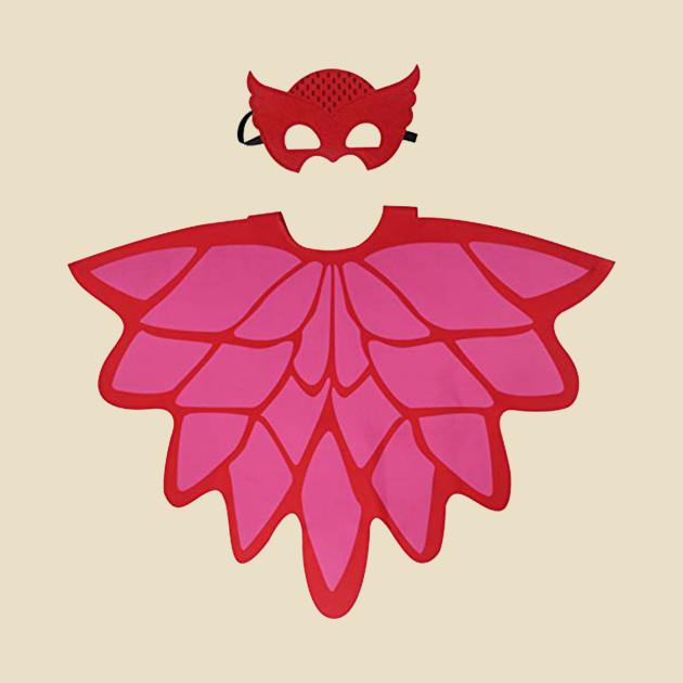 Pj masks owlette logo.
