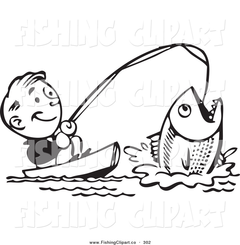 Catch fish clipart.