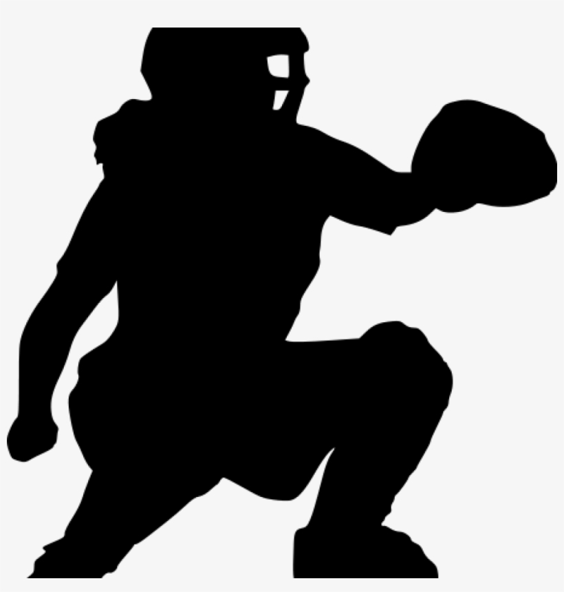 Softball Silhouette Clip Art 15 Catcher Clipart For.