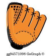 Clip Art Catchers Mitt.