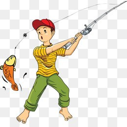 Catching fish clipart 5 » Clipart Portal.