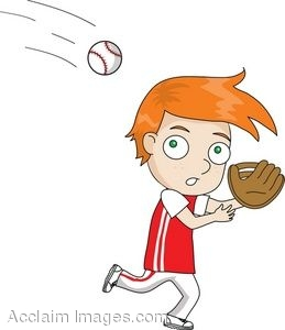 Catching A Ball Clipart.