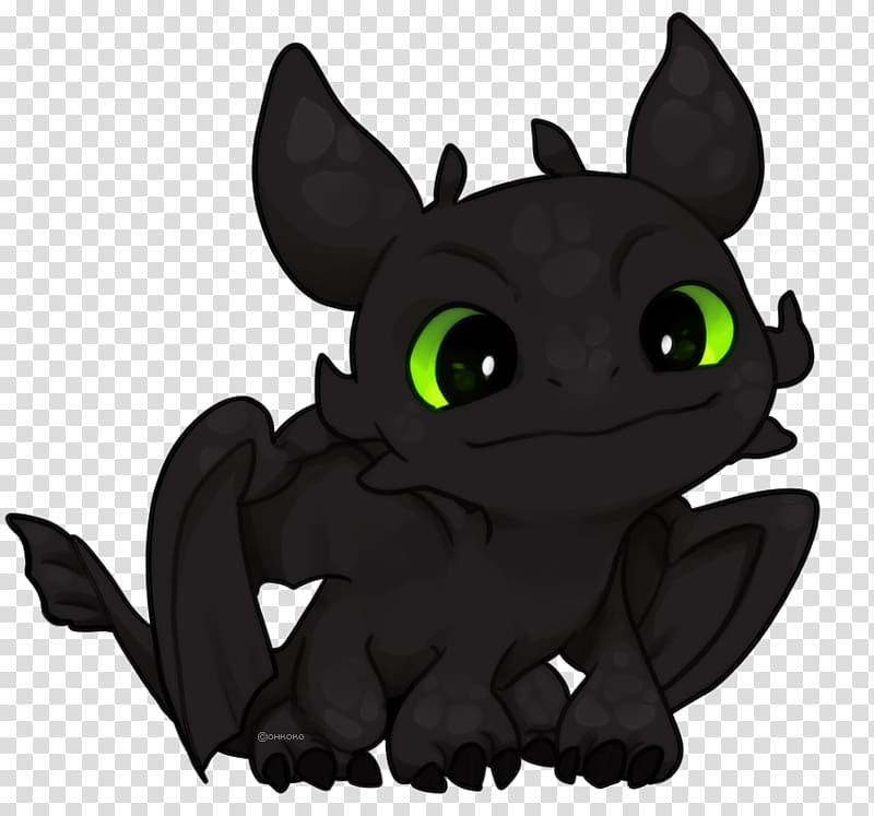 Cat Dragon Toothless Drawing , Cat transparent background.
