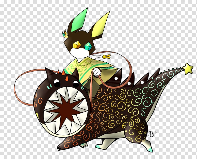 Cat Dragon Fauna , steed transparent background PNG clipart.