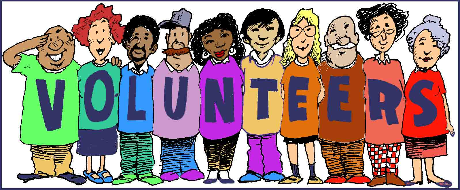 Catechists and Volunteers.