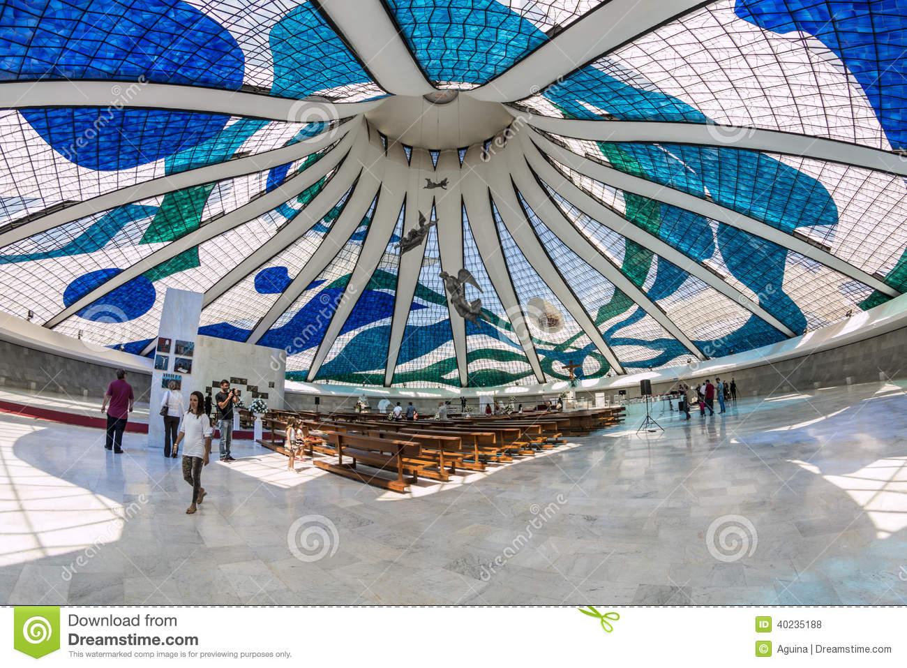 Brasilia Cathedral.