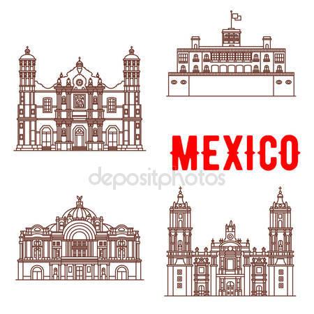Vectores de stock de Catedral metropolitana, ilustraciones de.