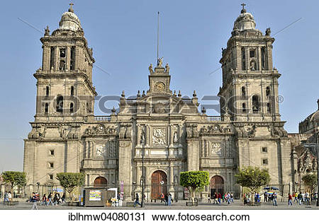 Stock Photography of Metropolitan Cathedral, Catedral.