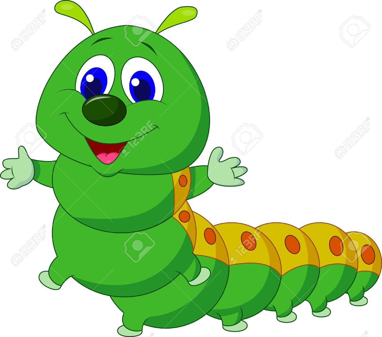 Caterpillar Cartoon Stock Photos, Pictures, Royalty Free.
