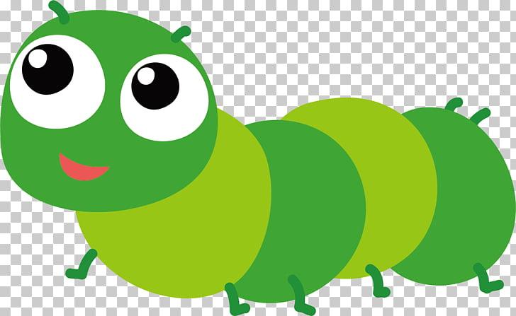 Caterpillar PNG clipart.