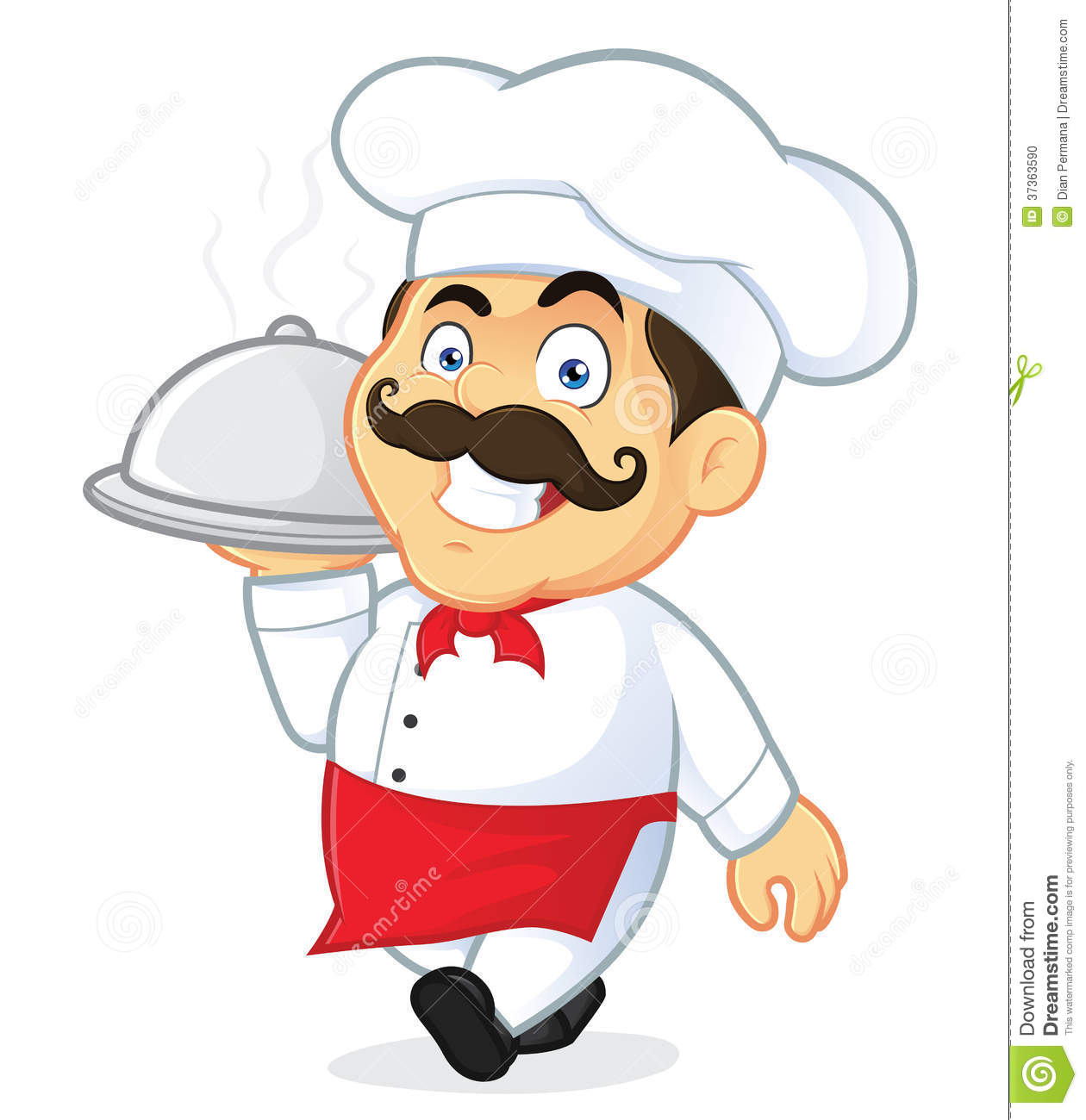 chef clipart cartoon #18