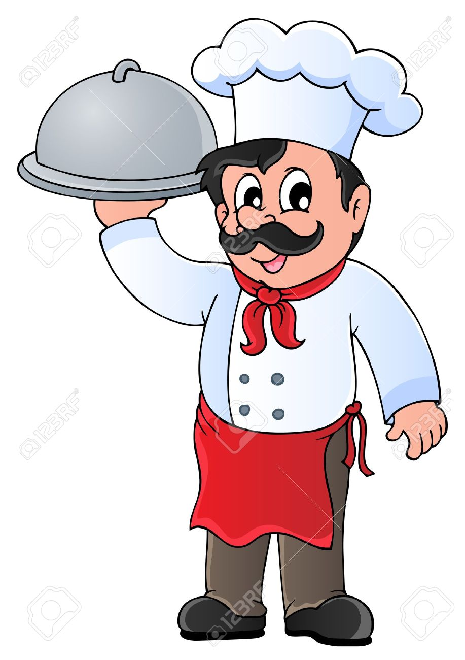 Catering Professional Staff Clip Art.