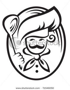 Free Catering Chef Logo Clipart.