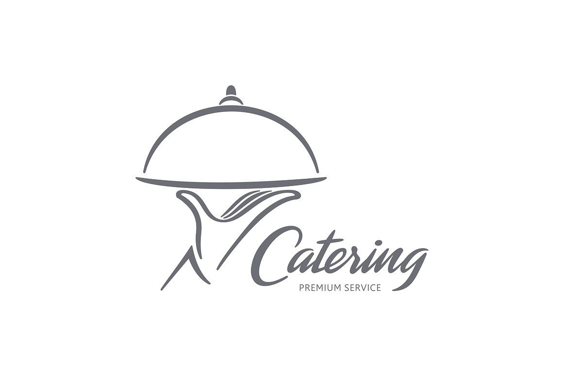 Catering Logo #editable#fully#vector#resizable.
