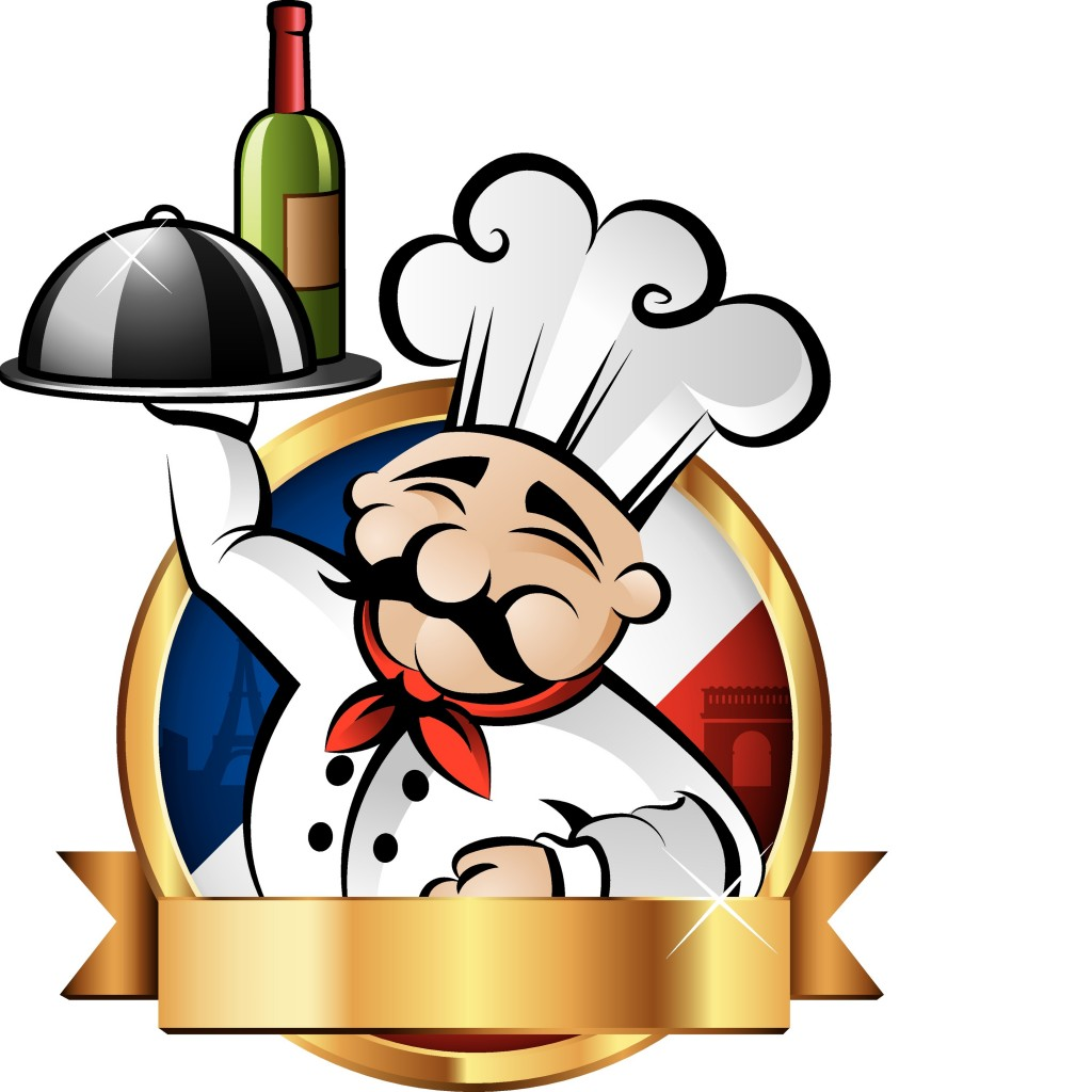 Catering chef clipart.