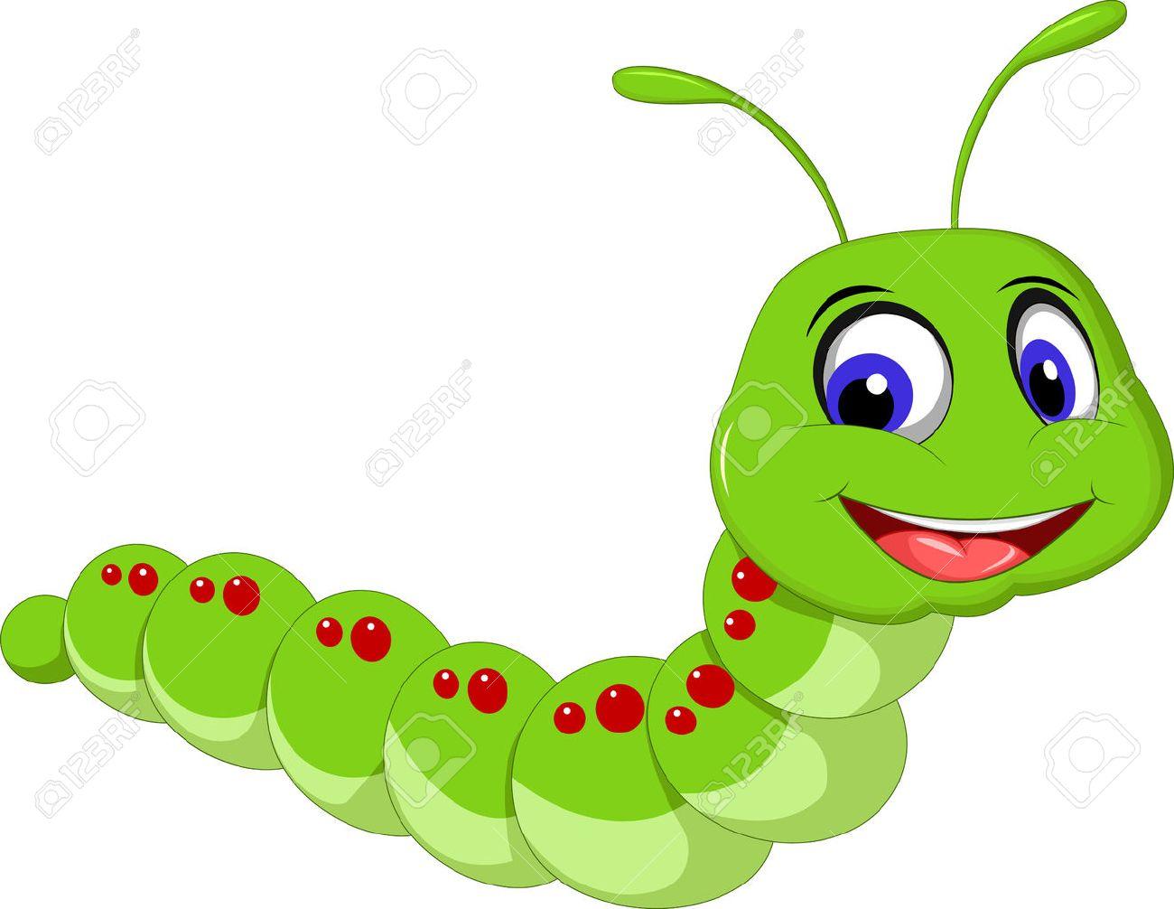 cute caterpillar cartoon.