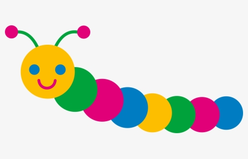Free Caterpillar Clip Art with No Background.