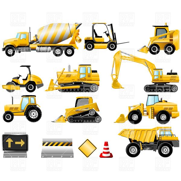 Caterpillar equipment clip art   cbei.