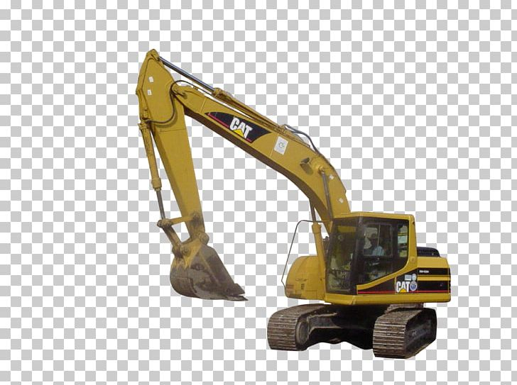 Caterpillar Inc. Heavy Machinery Excavator Backhoe PNG.
