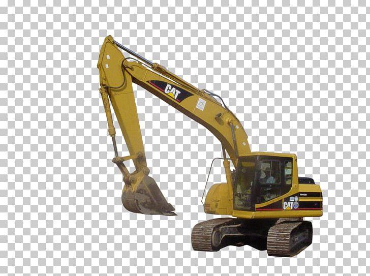 Caterpillar Inc. Heavy Machinery Excavator Backhoe PNG.