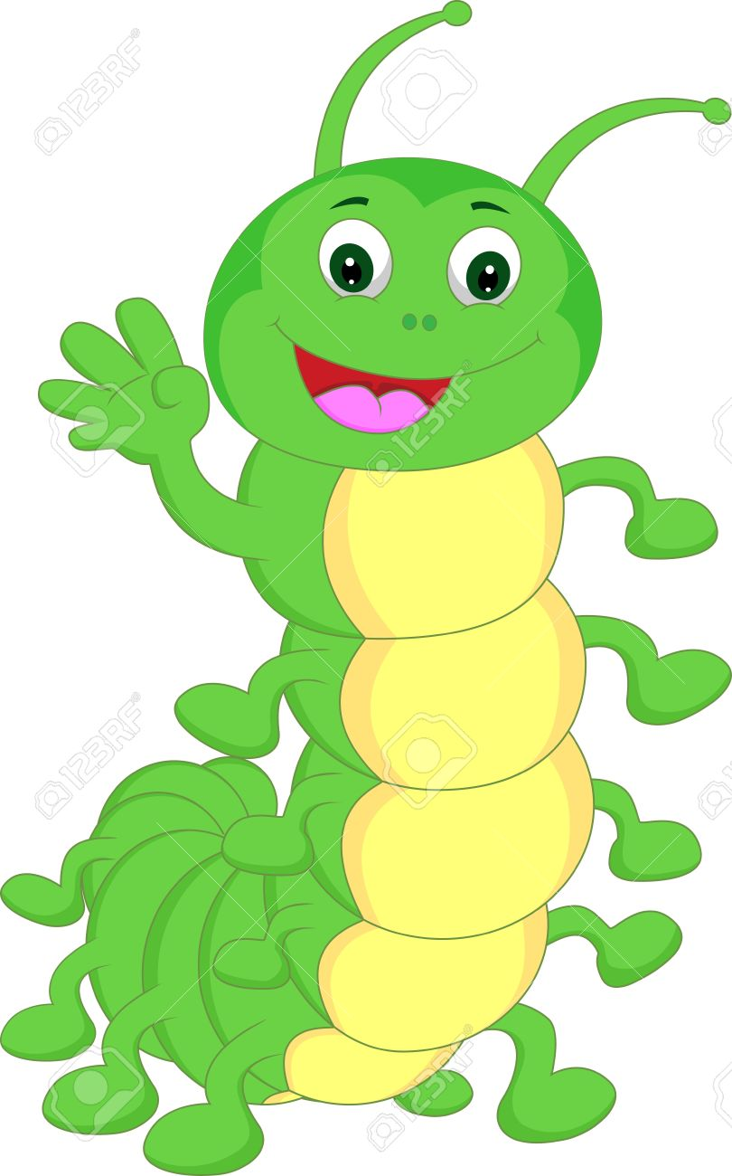 Cute caterpillar clipart 2 » Clipart Station.