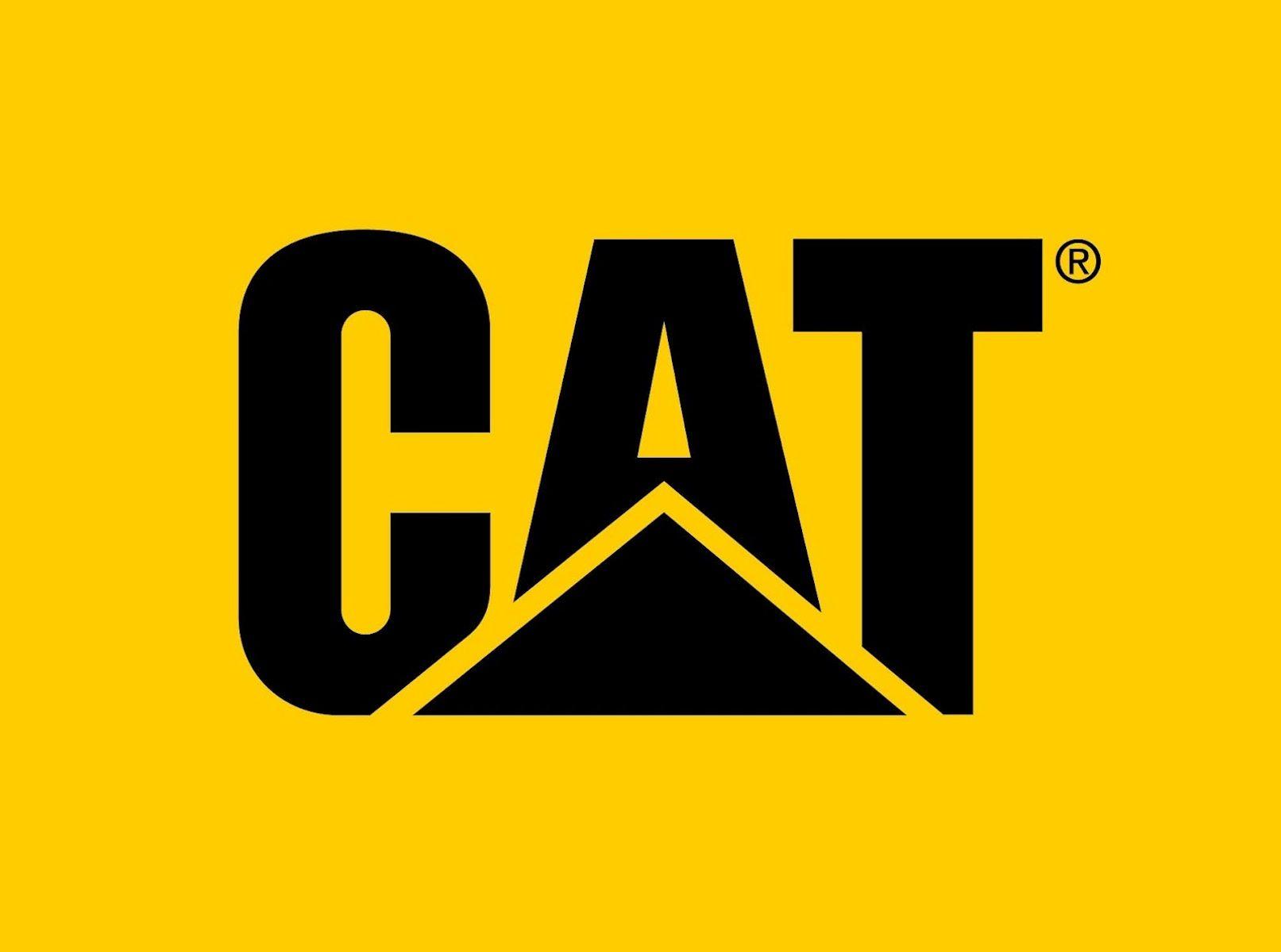 CATerpillar Logo HD Wallpaper.