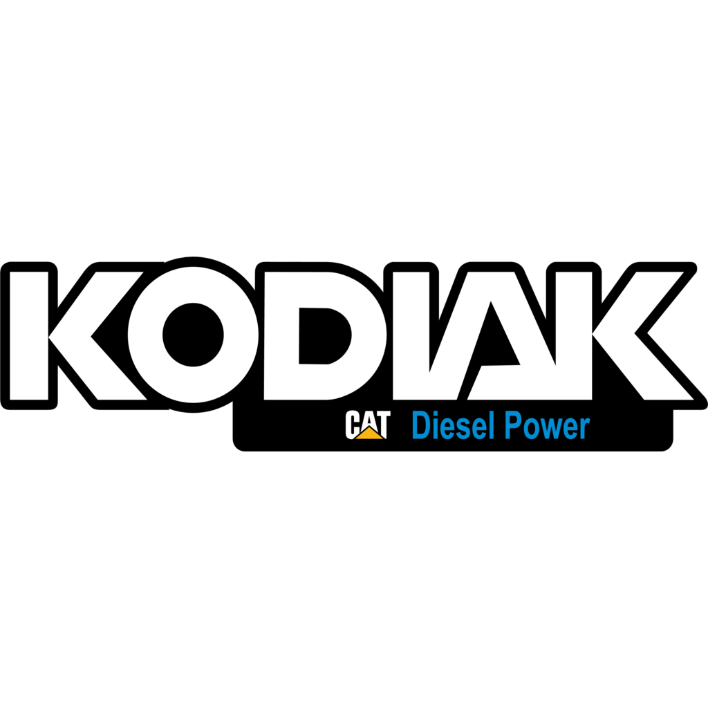 Kodiak Caterpillar logo, Vector Logo of Kodiak Caterpillar.