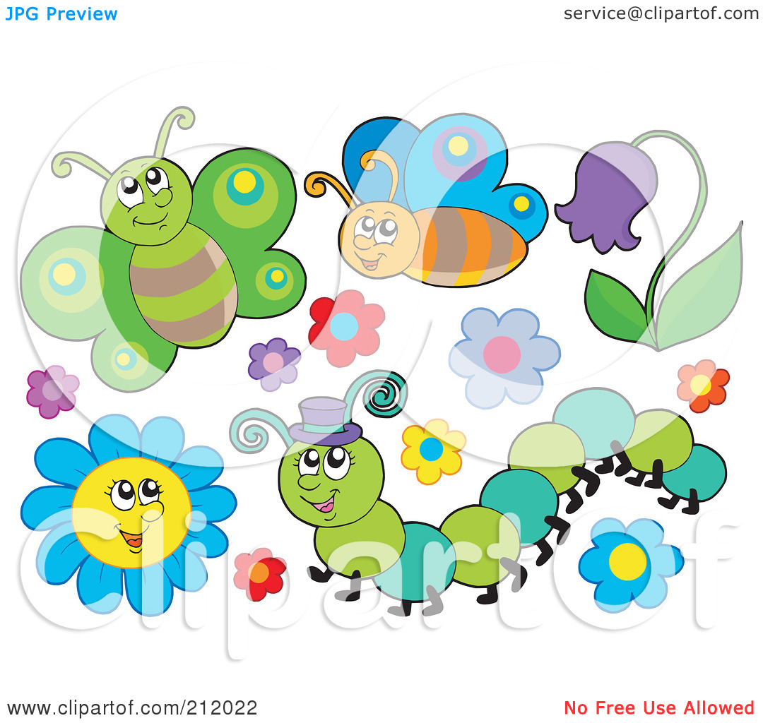 Caterpillar on flower clipart 20 free Cliparts   Download ...