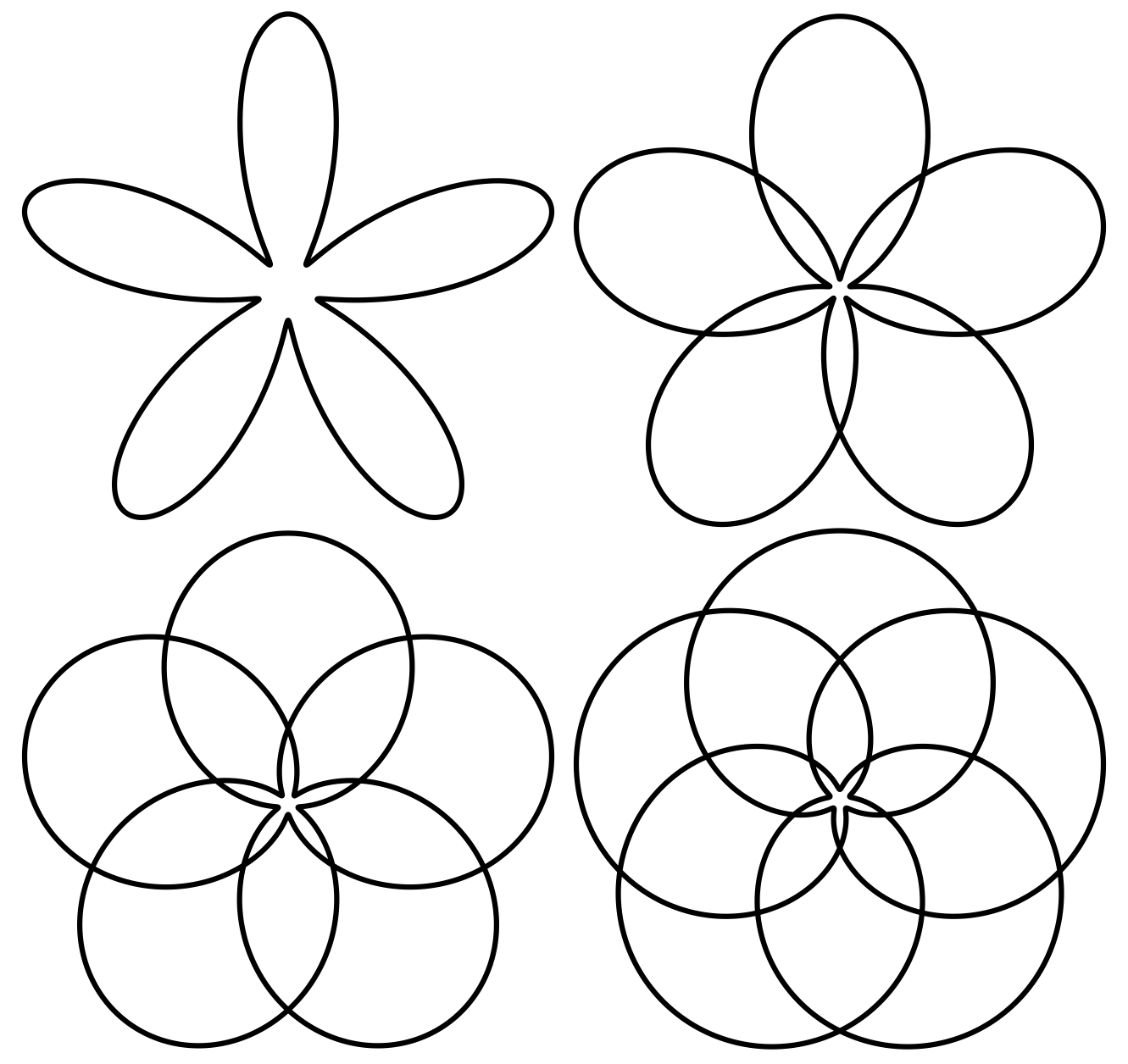 Black And White Caterpillar And Flower Clipart.