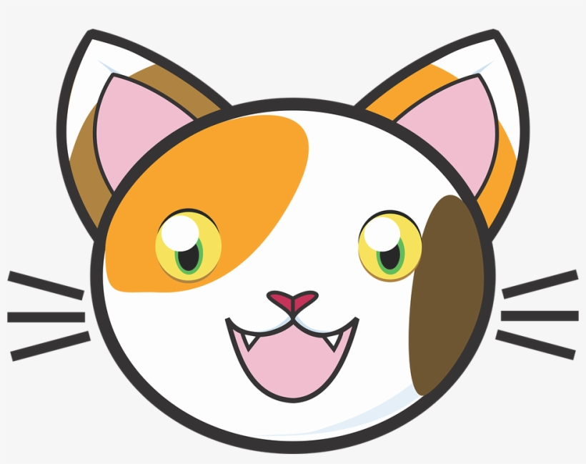 Calico Cat Clipart Cute.