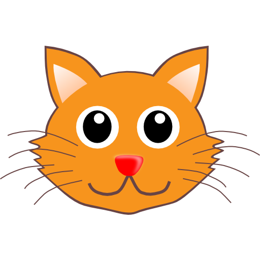 Cat face clipart 1 » Clipart Station.