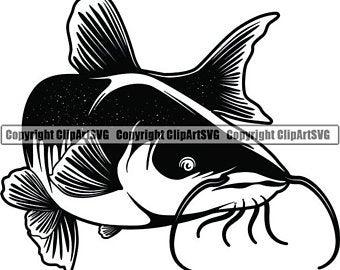 Catfish clipart.