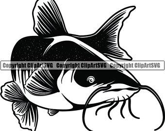 Catfish clip art.