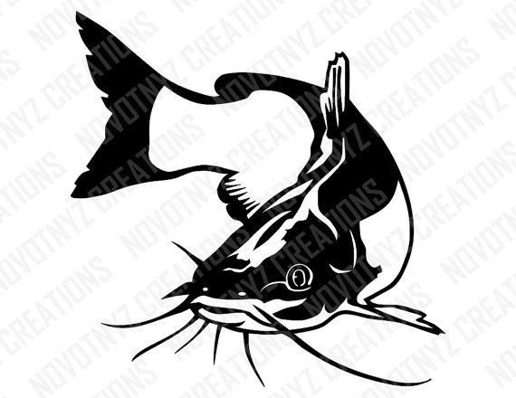 Catfish clipart svg, Catfish svg Transparent FREE for.